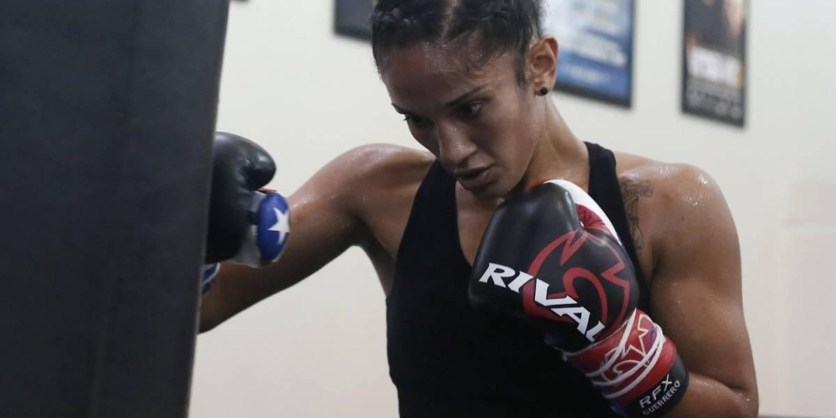 Amanda Serrano afina entrenamiento para nueva defensa de título