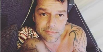Penélope Cruz publicó una foto hot de Ricky Martin