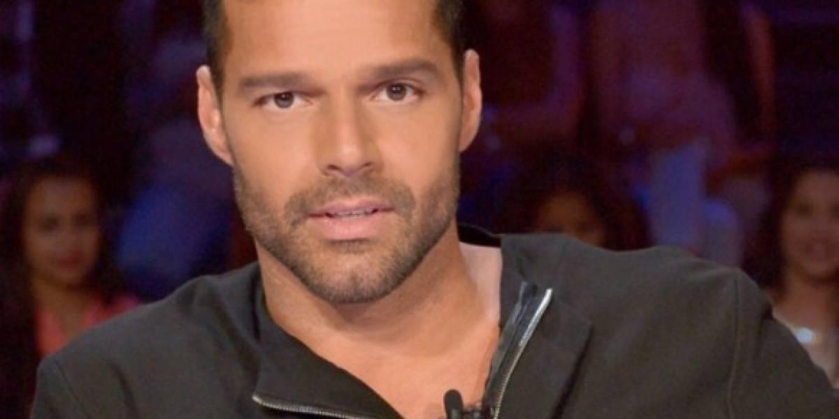 Ricky Martin coquetea con Penélope Cruz