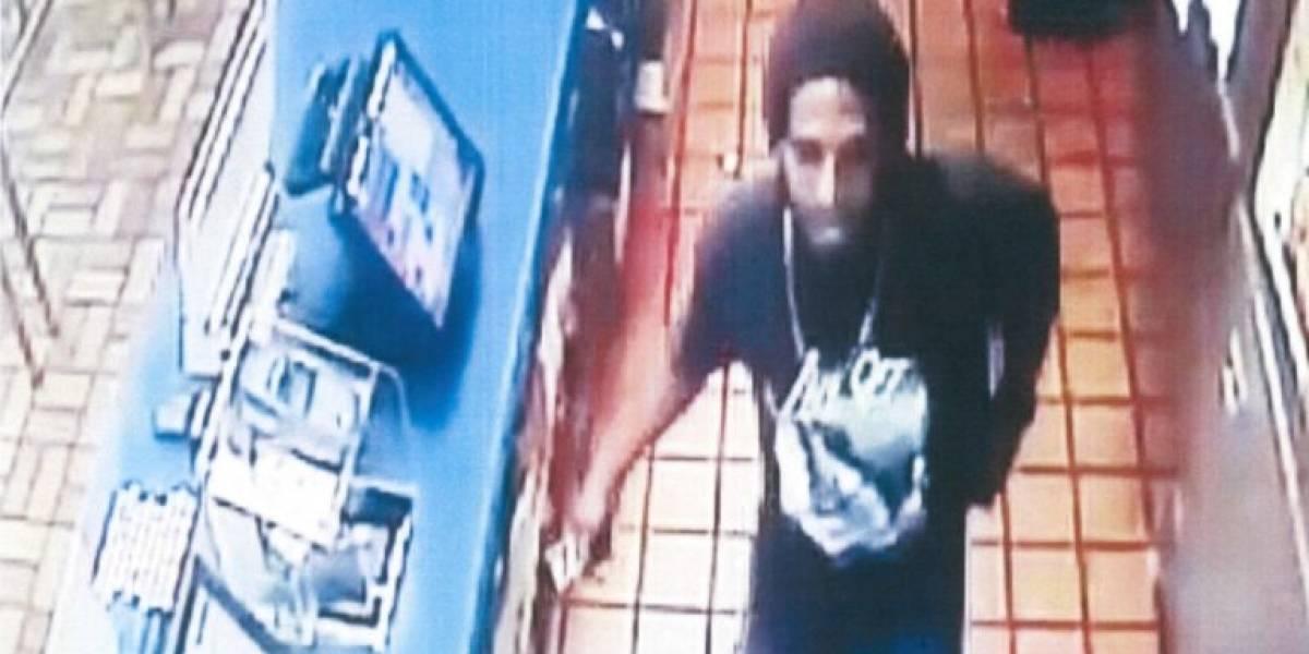 Buscan sujeto por robo en Burger King de San Juan