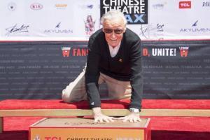 Stan Lee en el Teatro Chino