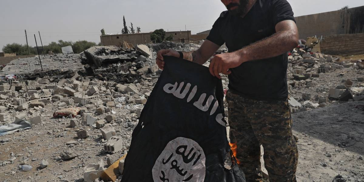 Estado Islámico aún controla  22.65 % del territorio de Siria