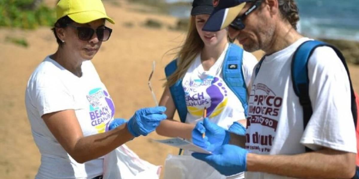 Recogen sobre 600 libras de basura en playa de Loíza