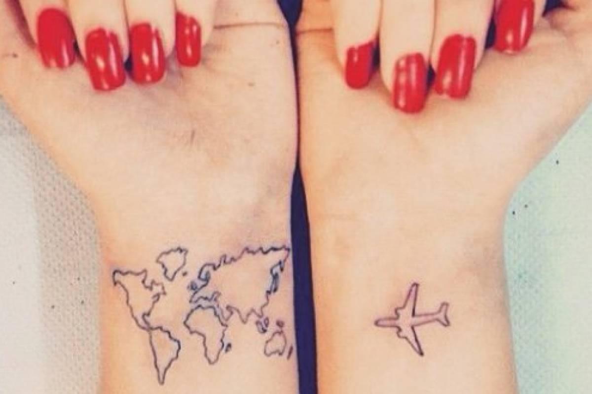 Disenos De Tatuajes Para Personas Viajeras Con Espiritu Aventurero