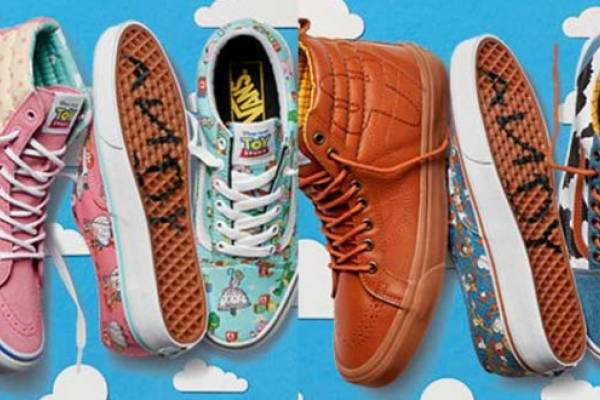 vans toy story mujer