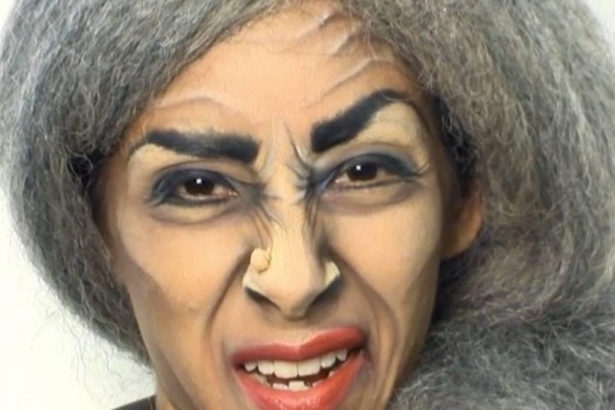 si quieres un maquillaje que impacte y cause un poco de terror sigue paso a paso este tutorial para halloween - Maquillaje Bruja