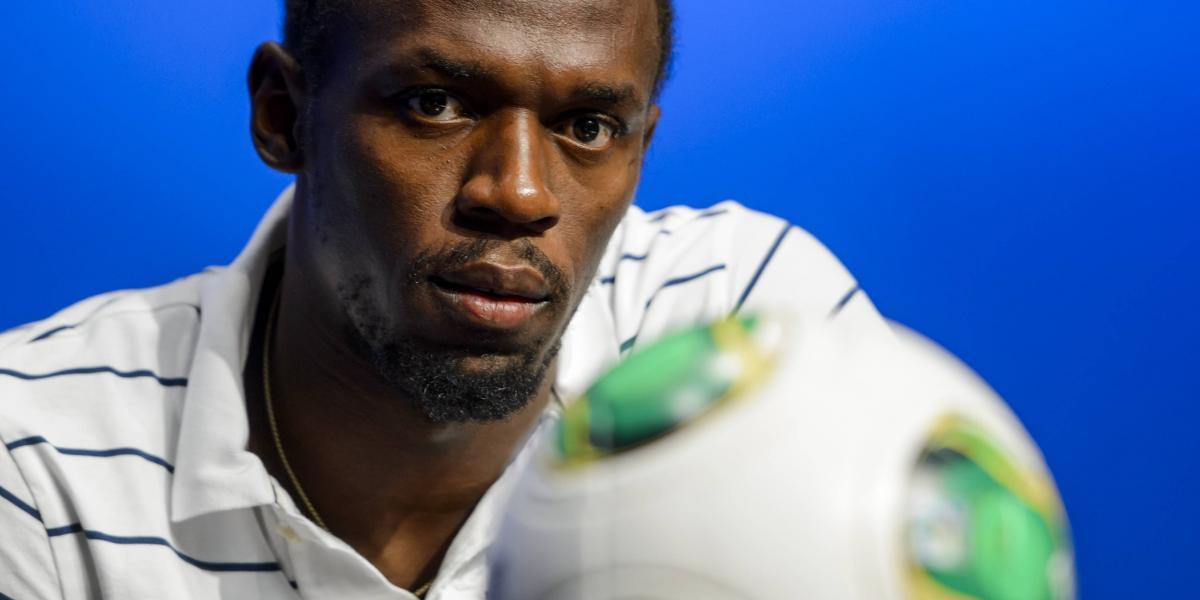 "Usain Bolt insiste con ser futbolista: ""No he descartado la idea"""