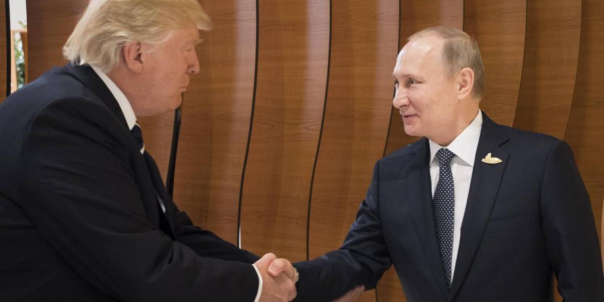 Trump y Putin habrían tenido una reunión secreta paralela al G-20
