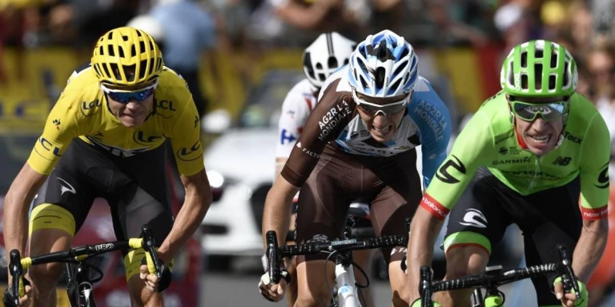 Tour de Francia: Froome se afianza en el liderato y Urán salta al segundo lugar