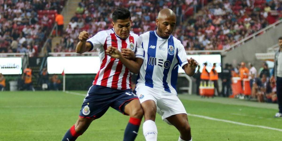 Chivas vino de atrás para igualar con el Porto