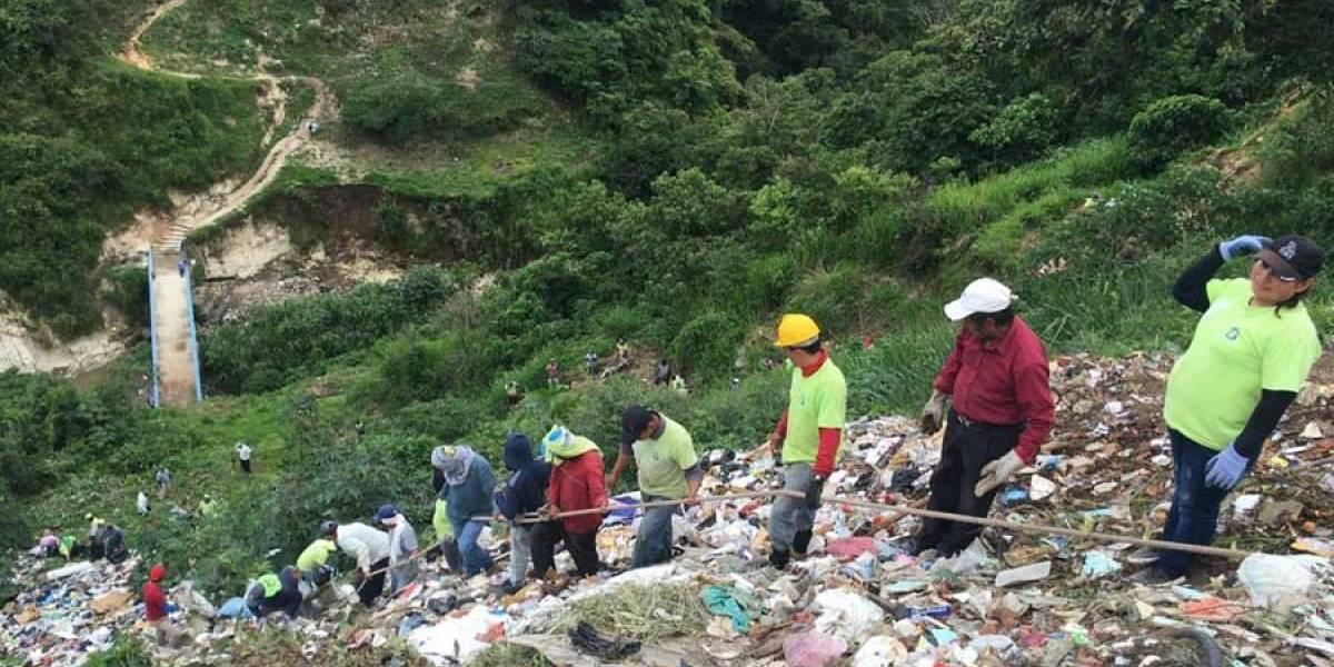 Extraen más de 80 toneladas de basura de vertedero clandestino en la Primero de Julio