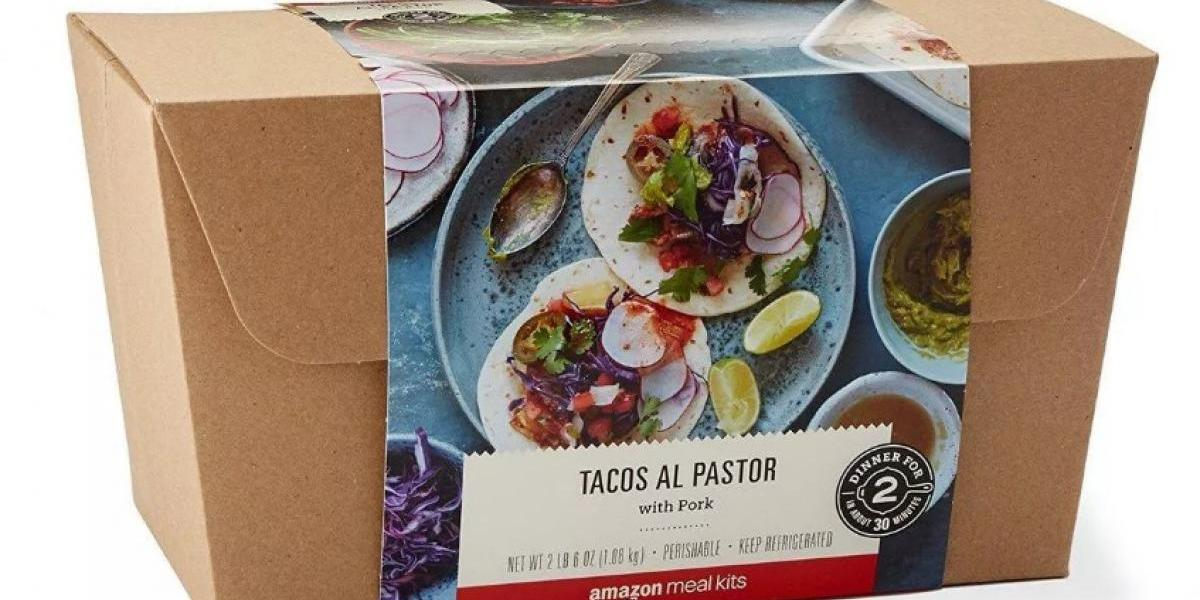 Amazon vende tacos al pastor a domicilio