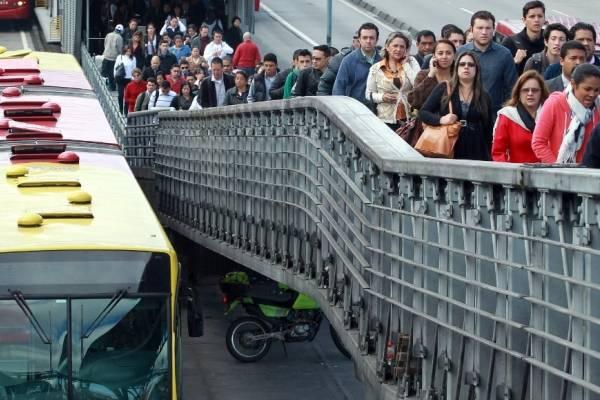 Robos en TransMilenio