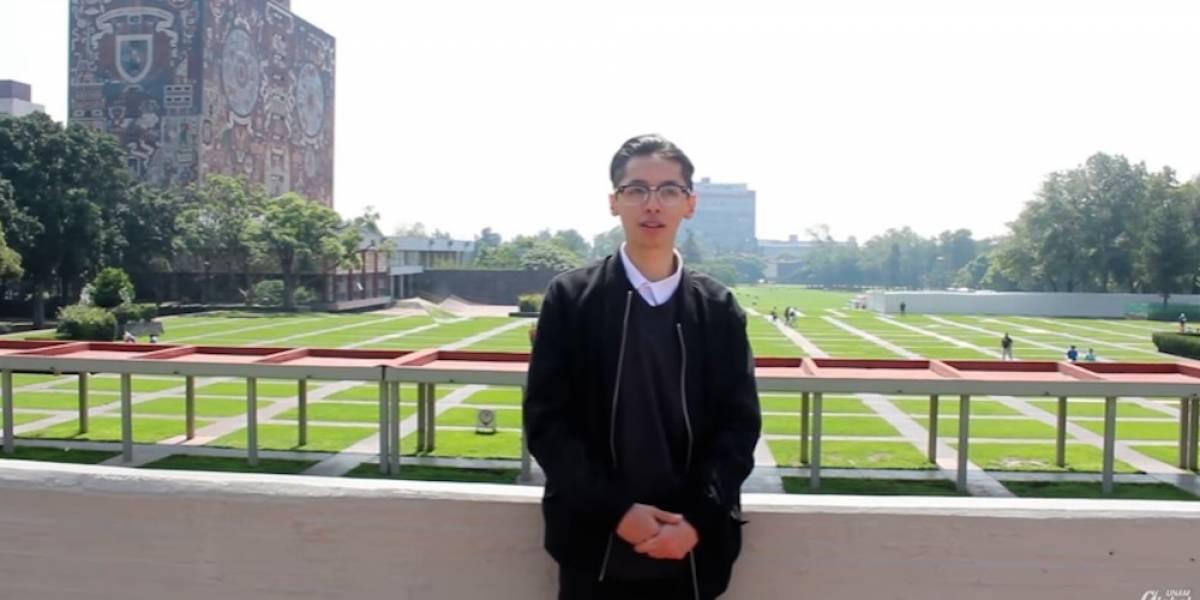 Alumno obtiene puntaje perfecto en examen de admisión a la UNAM