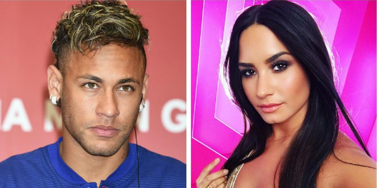 VIDEO: Neymar le 'coquetea' a famosa cantante de pop