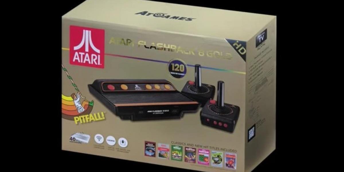 Atari también tiene su consola retro, la Flashback 8 Gold