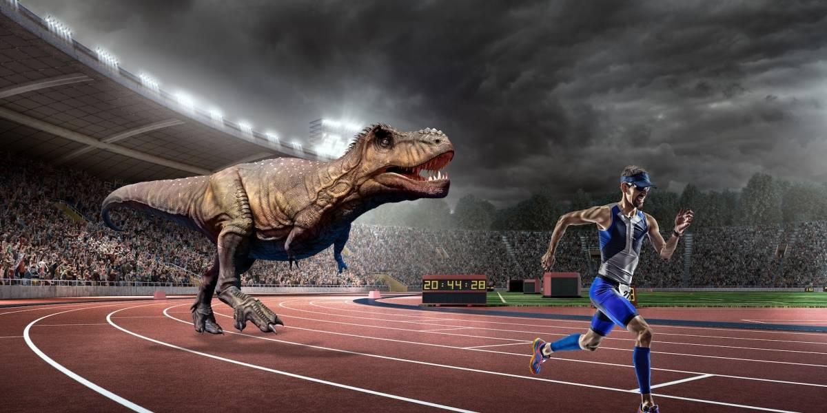 El T-Rex podría haber sido más lento que el hombre