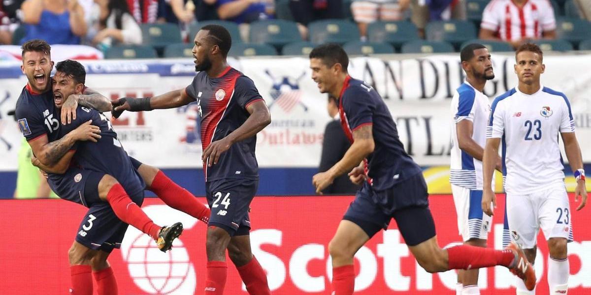 Costa Rica vence a Panamá y es el primer semifinalista de la Copa Oro