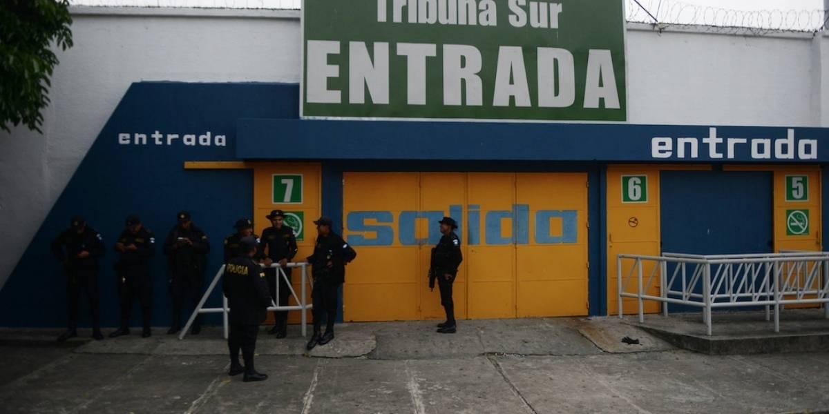Denuncian robo a atletas en el estadio Doroteo Guamuch Flores