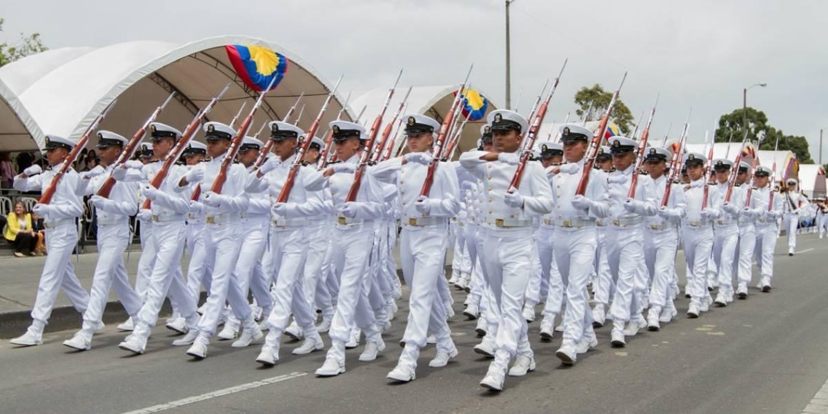 Siga el Desfile militar del 20 de julio en el Día de la Independencia de Colombia