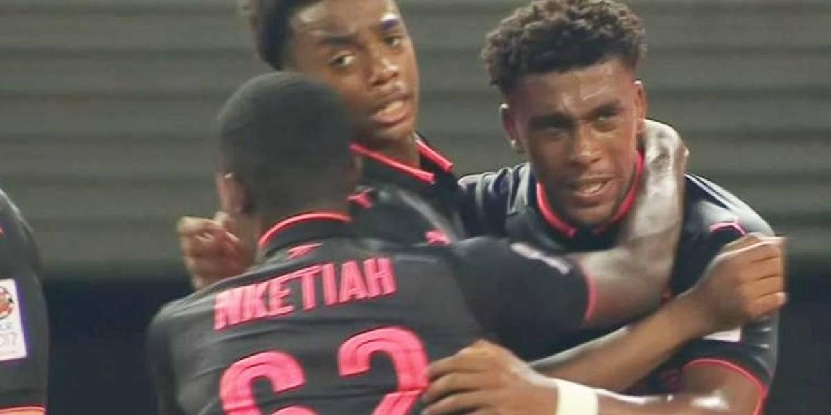 Sin Alexis y Vidal: Arsenal derrotó por penales a Bayern en un amistoso jugado en China