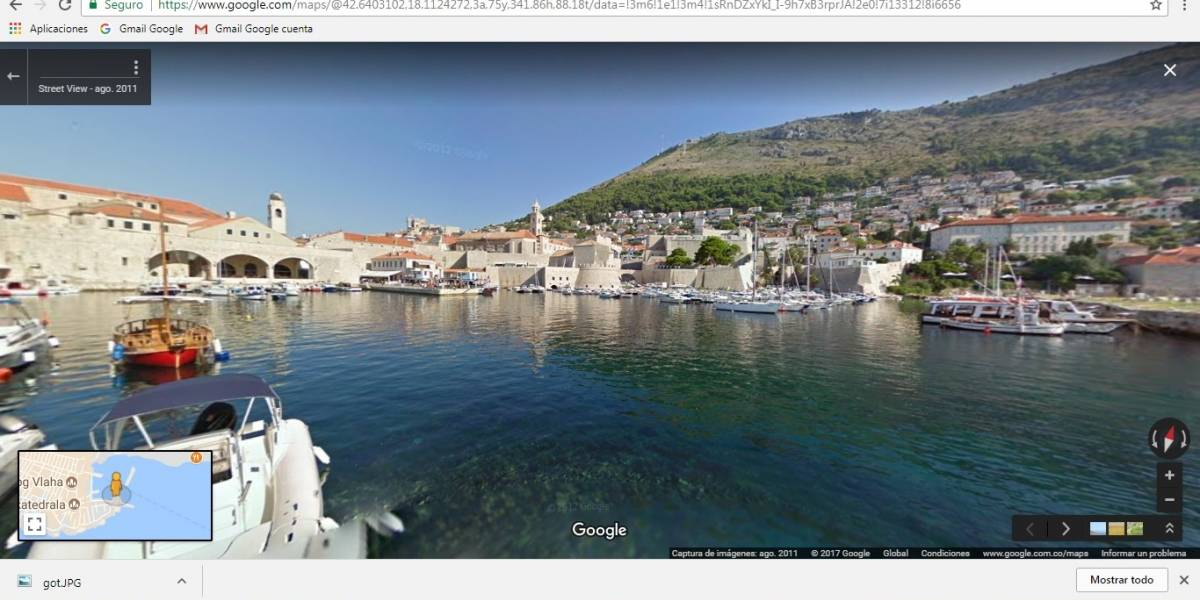 Recorra las locaciones de Game of Thrones con Google Street View