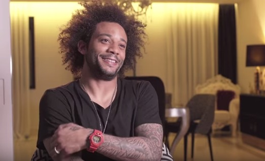 Entrevista a Marcelo en Real Madrid TV