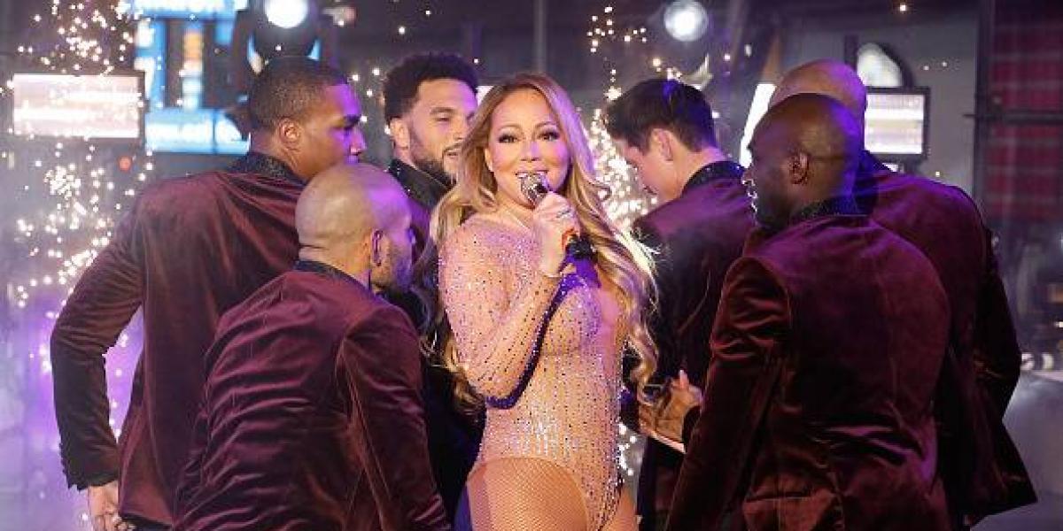 El video de Mariah Carey bailando durante su último concierto se hace viral