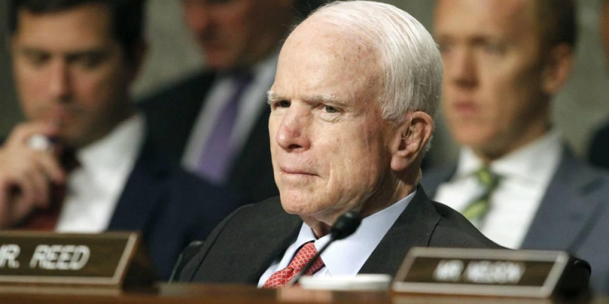 Diagnostican con cáncer de cerebro al senador John McCain
