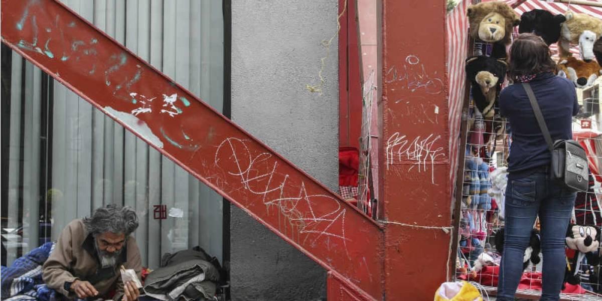 Sube 25% población callejera en la Ciudad de México