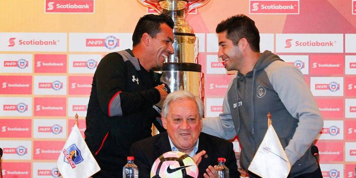 Del enfado a las risas: Paredes y Álvarez lanzaron la Supercopa pactando una apuesta