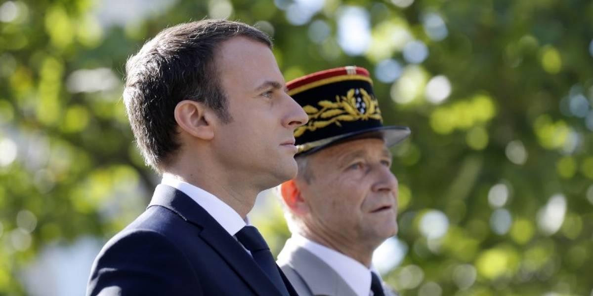 Renuncia el jefe del Estado Mayor de Francia