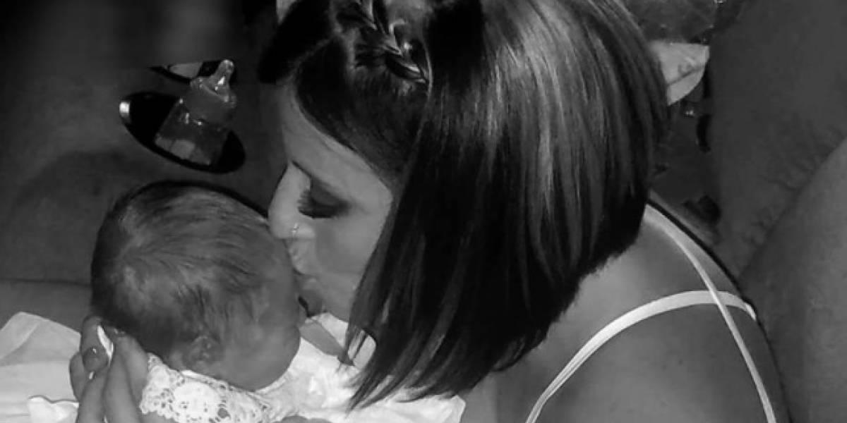 Beso provoca muerte de recién nacida