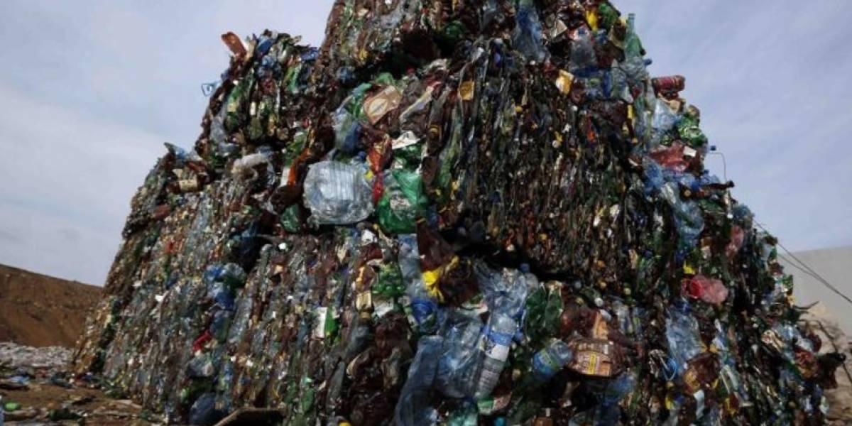 Basura plástica suficiente para sepultar Manhattan