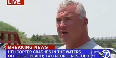 Estrella de la WWE sufre un accidente de helicóptero