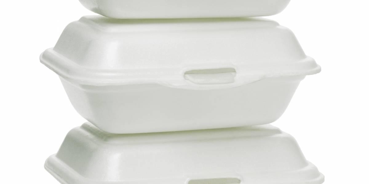 Presentan medida para prohibir contenedores comida de