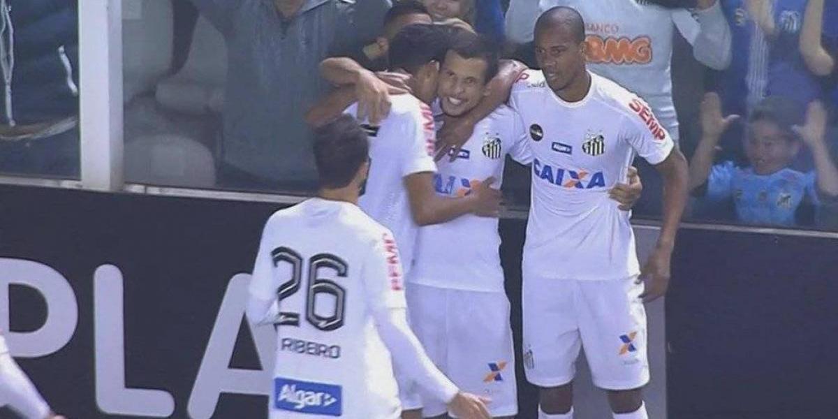 Emiliano Vecchio se vistió de héroe en Brasil y le dio valioso triunfo a Santos