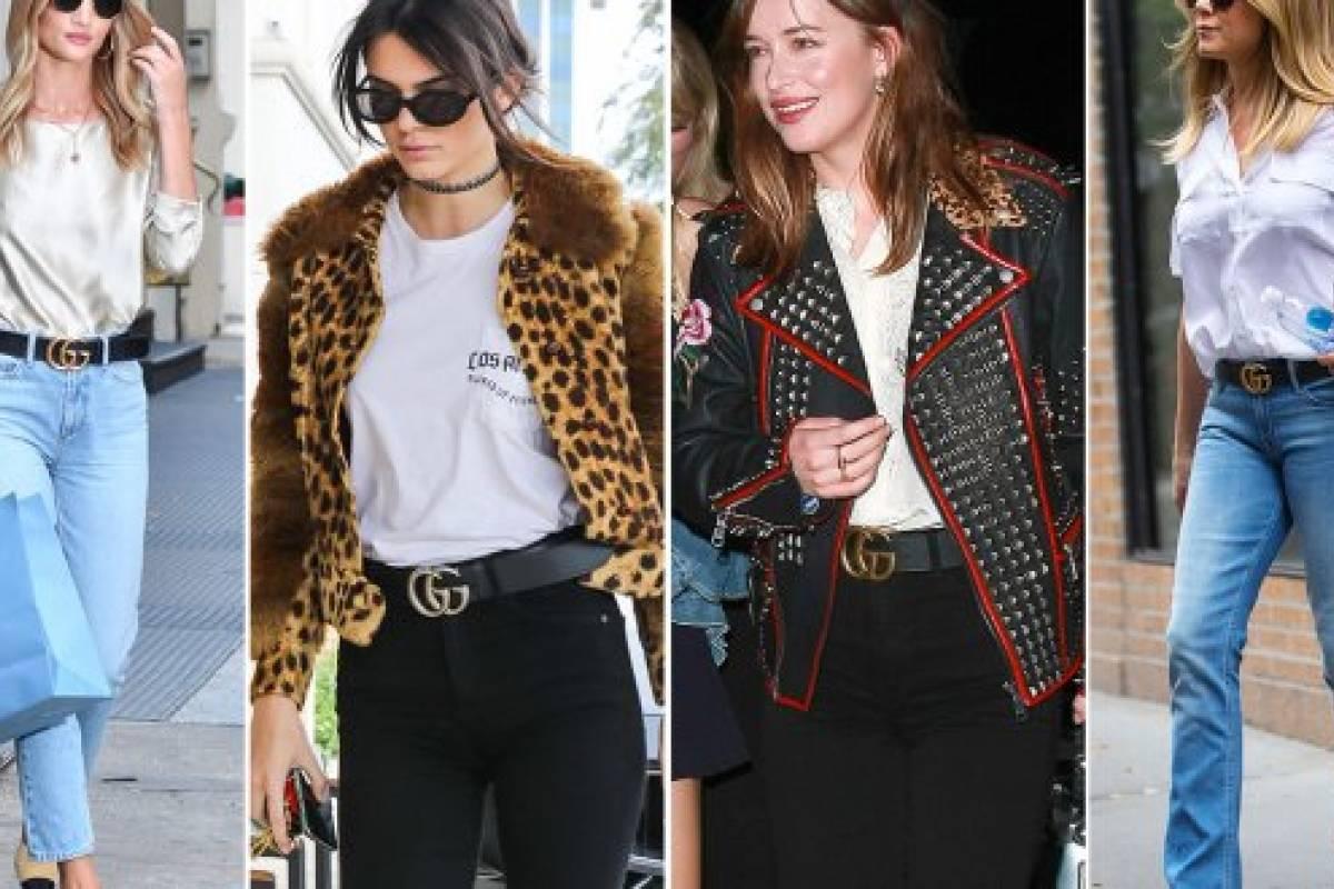 Este es el cinturón de Gucci que fascina a todas las mujeres 8d7403be99ec