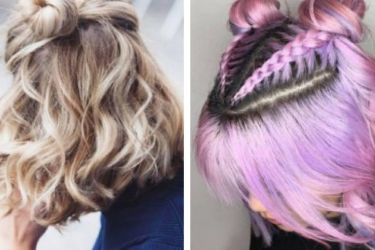 Imgenes de peinados sencillos para cabello corto Nueva Mujer