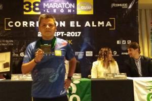 Presentan la 38 edición del Maratón de León