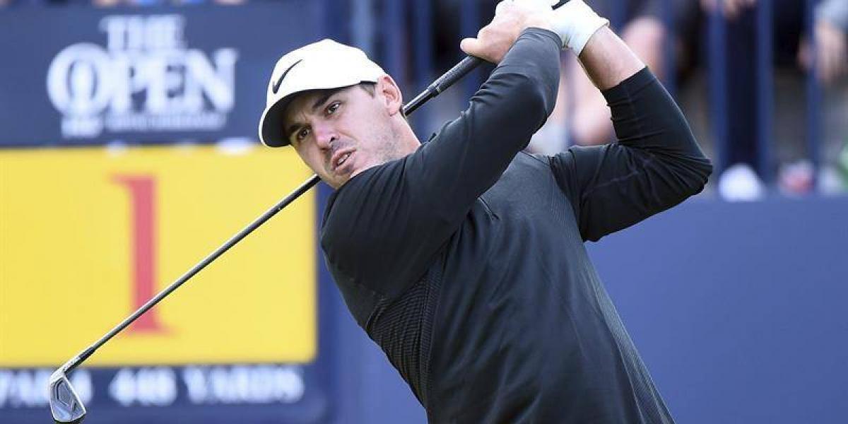 Estados Unidos domina el Abierto británico de golf tras la primera ronda