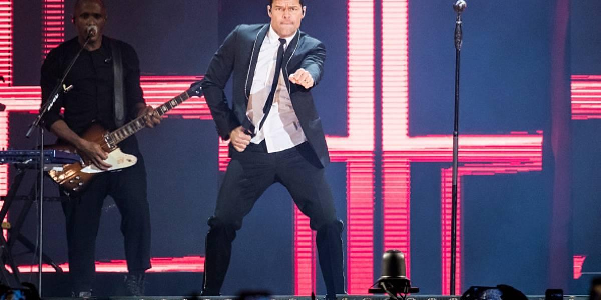 ¡Todo listo para el concierto de Ricky Martin en el Zócalo!