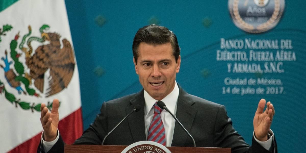 Peña Nieto festeja su cumpleaños en el estadio del Toluca