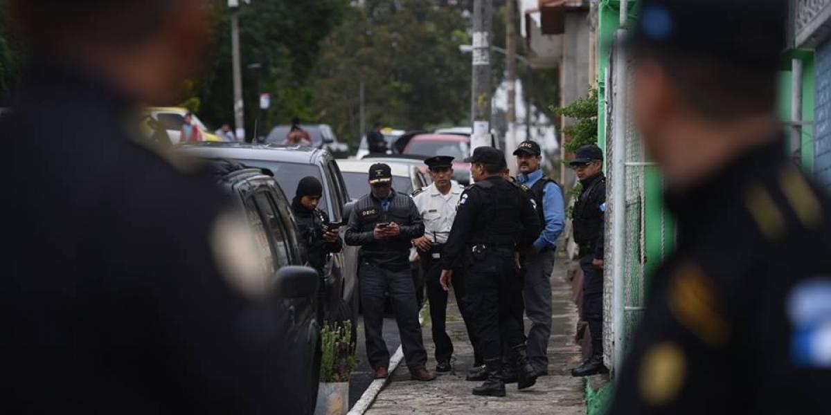 Capturan a 17 personas vinculadas con actos de corrupción en la comuna de Chinautla