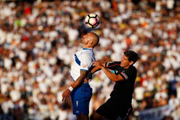 Santiago Silva y Julio Barroso se enfrentarán el domingo en el Estadio Nacional por la edición 2017 de la Supercopa / Agencia UNO