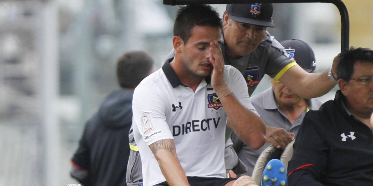 Colo Colo pierde uno de sus puntales en ataque para la Supercopa ante la UC