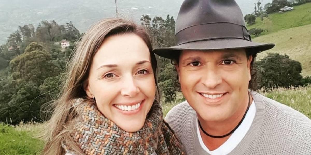 Claudia Elena Vásquez habría presenciado el momento en que le roban un beso a Carlos Vives