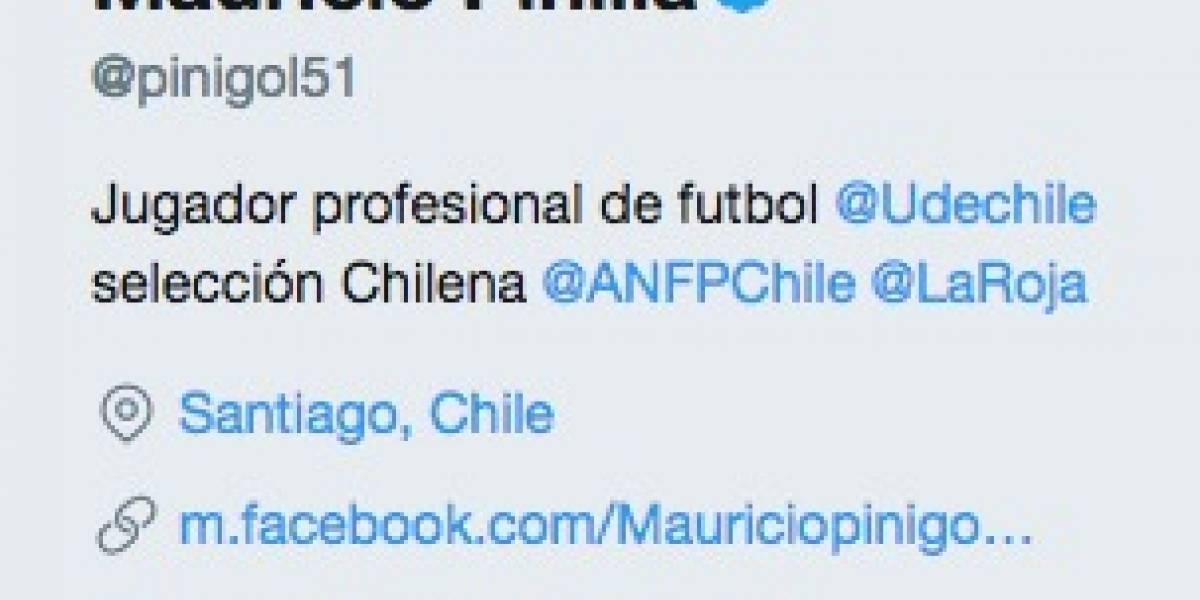 """Mauricio Pinilla no se aguantó y """"oficializó"""" su llegada a la U"""