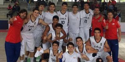 Chile logra histórico título en el Sudamericano Sub 17 de Baloncesto