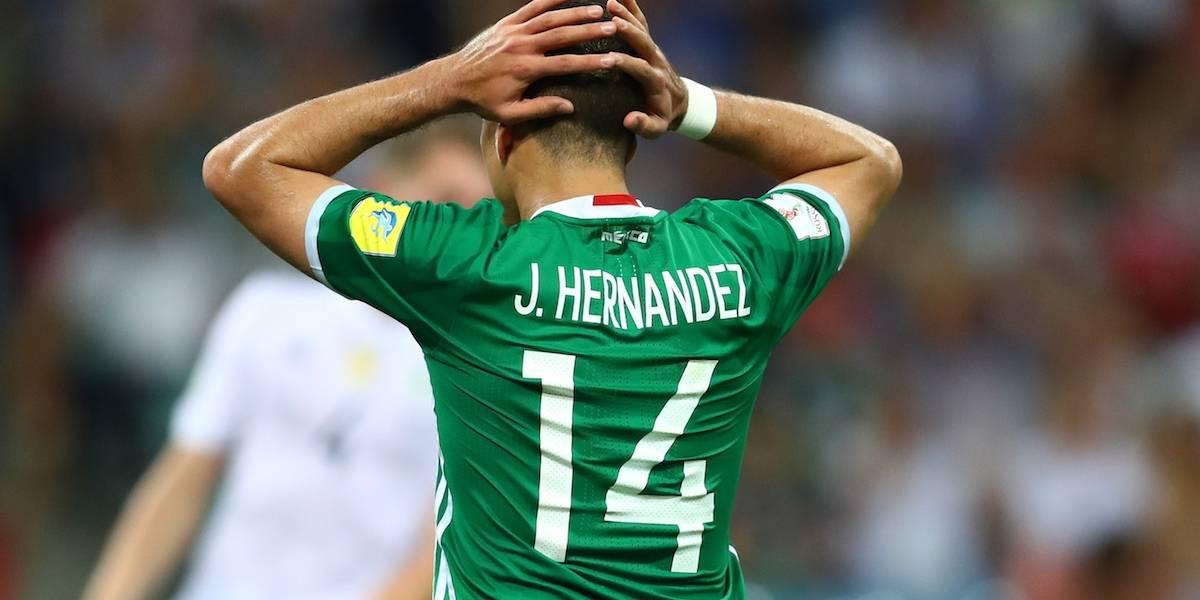 'Chicharito' no podrá utilizar sus números de la suerte en el West Ham